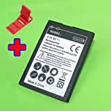 Capacity 2000mAh Extended Slim Battery for Tracfone/Net10 Huawei Glory H868C Cellphone with Additional Valueable Accessory (See Picture)