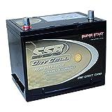 12v 60ah deep Cycle AGM Battery Caravan Solar 4wd Marine NS50P