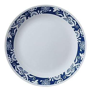 Corelle Livingware True Blue 10.25  Plate, 4 Pack