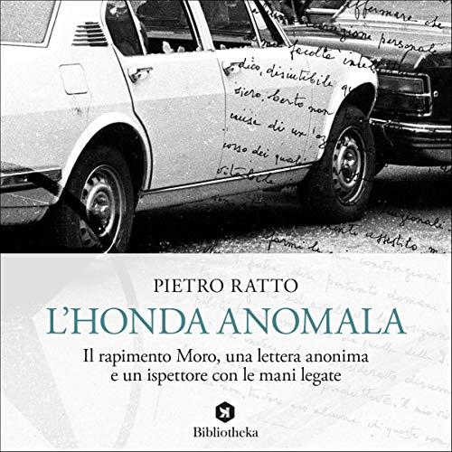 L'Honda anomala copertina