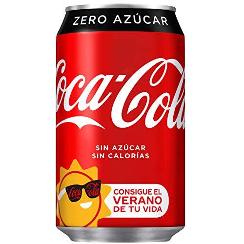 Coca-Cola - Zero, Lata 330 ml - [pack de 12]