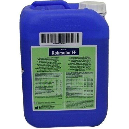 Kohrsolin FF Flächen-Desinfektionsreiniger Konzentrat, Desinfektionsmittel, 5 l