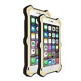 LOVE MEI MK2 Aero Aluminium Metal Case Cover TPU Shockproof Case Cover for iPhone 6s Plus - Gold