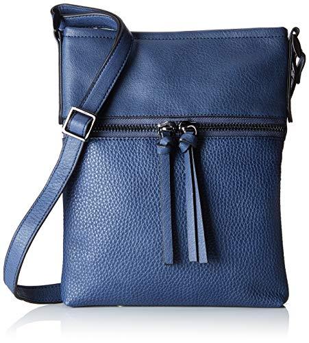 Esprit Accessoires Damen 098ea1o001 Umhängetasche, Blau (Blue), 2,5x27x21 cm