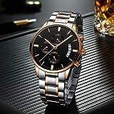 LMLAW Gentleman Ultra-Delgado Negro Oro y Plata del Muchacho del Hombre Informal Estudiante de Reloj de Cuarzo de 43 mm Fino Cierre de Negocios en el Impermeable Pocket Watch (Color : Silver)