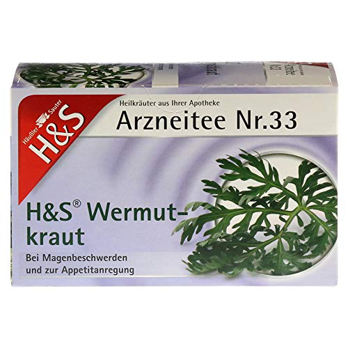 H&S Wermutkraut Filterbeutel 20X1.5 g