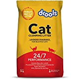 Drools Clumping Lavender Fragrance Cat Litter (For multiple cats), 5kg