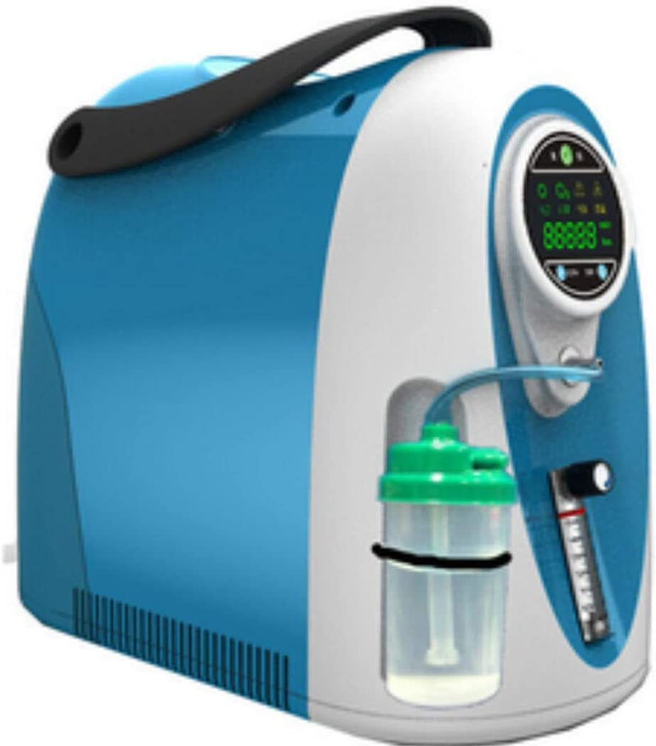 Máquina de oxígeno Uso doméstico Concentrador de oxígeno de 3 litros LG301 con 93% de pureza de oxígeno Envío gratuito con filtro adicional