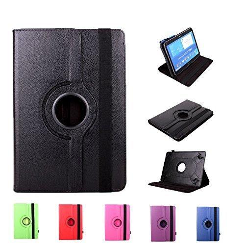"Theoutlettablet® Funda Negra Giratoria 360º para Tablet Bq Edison 2 10.1"" / Bq Edison 2 10.1"" Quad Core"