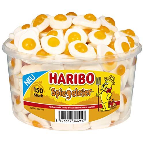 Haribo Spiegeleier süsses Fruchtgummi mit Schaumzucker 150er 975g