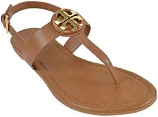 Bryce Flat Thong Sandal Veg Leather (6 US Royal Tan)