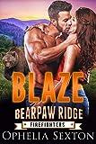Blaze: A Bear Shifter + BBW Paranormal Romance (Bearpaw Ridge Firefighters Book 8)