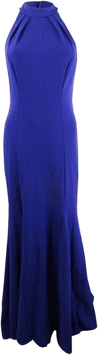 Xscape Women's Halter-Neck Gown