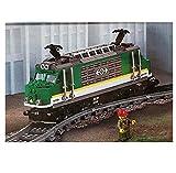 LEGO City 60198 Locomotora de Tren de Mercancías sin Motor