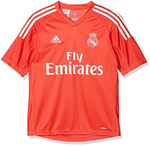 adidas Kinder Replica Real Madrid Torwart-Auswärtstrikot, rot, 176 (15/16 Jahre)