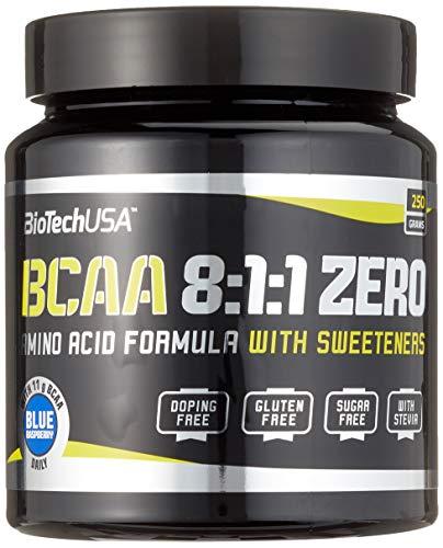 BIOTECH BCAA ZERO, blue raspberry, 250 g