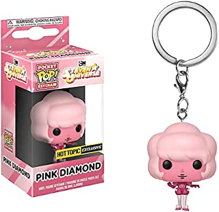 Funko Pocket Pop! Steven Universe Pink Diamond Exclusive Keyring Keychain
