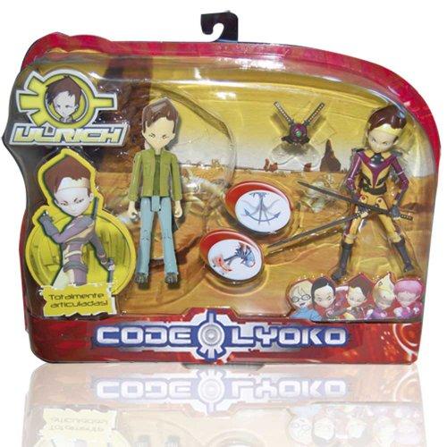Código Lyoko - Set 2 Figuras: Real + Virtual (Simba) 3089069 (surtido)