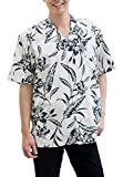 かりゆしウェア 単色百合 オープンシャツ(ゆったりタイプ)   半袖 半袖シャツ アロハシャツ かりゆし メンズ シャツ リゾート 沖縄 結婚式 ビジネス MANGO PLUS マンゴ プラス 単色 (ブルー,S)