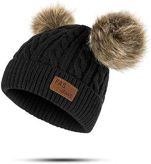 black pom pom hat baby