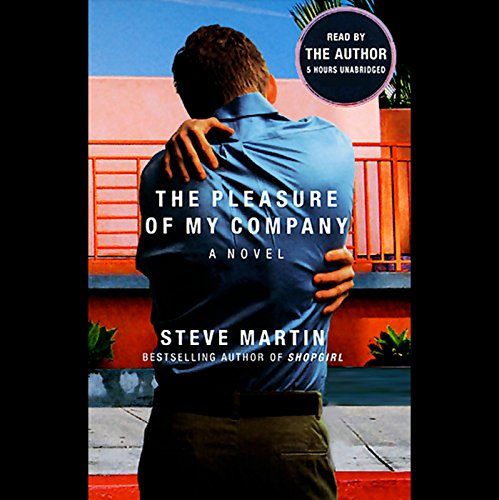 The Pleasure of My Company audiobook cover art