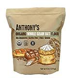 Anthony's Organic Whole Grain Oat Flour, 4 lb, Gluten Free, Non GMO, Non Irradiated, Finely Ground, Vegan
