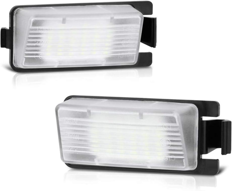 VIPMOTOZ Full LED License Plate Ranking TOP2 Replacement Light Assembly Lamp Popular brand