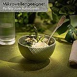 KIVY® Müslischalen 6er Set [850 ml] - Extra Groß für Müsli, Bowls & Suppen - Müslischale Groß - Bowl Schüssel Set- Suppenschüsseln Groß - Ramen Schüssel - Suppenschale Bunt - Schalen Set - 6
