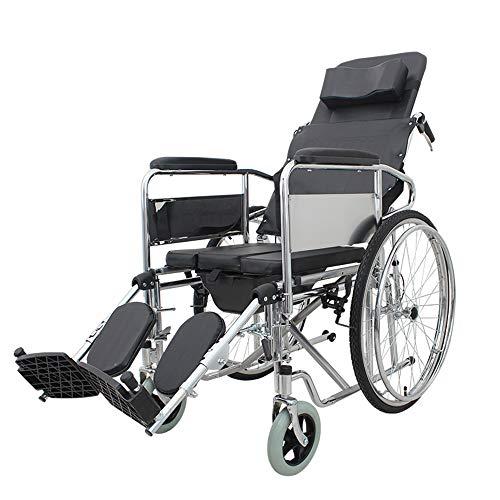 Manueller Rollstuhl mit vollständiger Neigung, Leichter manueller Rollstuhl, Sportlicher Rollstuhl mit vollständiger Neigung, Rollstuhlsitz mit erhöhter Beinstütze