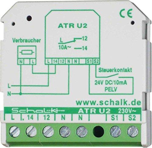 Schalk Trennrelais aktives ATR U2 1W,230VAV/24VDC PLEV Schaltrelais 4046929601160