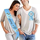 Beautiful Mommy to BE S ASH Baby Shower Decoration Gender Reveals Party Gifts for boy (ONLY Blue SASH) didn't Include pin
