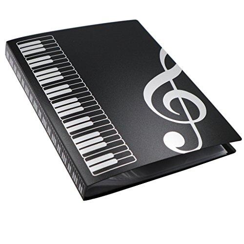 MOREYES Carpeta de música Canción Soporte de papel