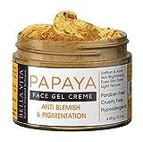 Crema facial de papaya para eliminar la pigmentación y las imperfecciones