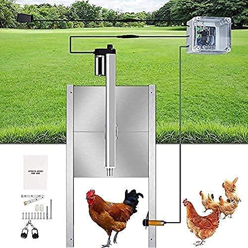 4YANG Kit d'ouvre-porte automatique de poulailler avec...
