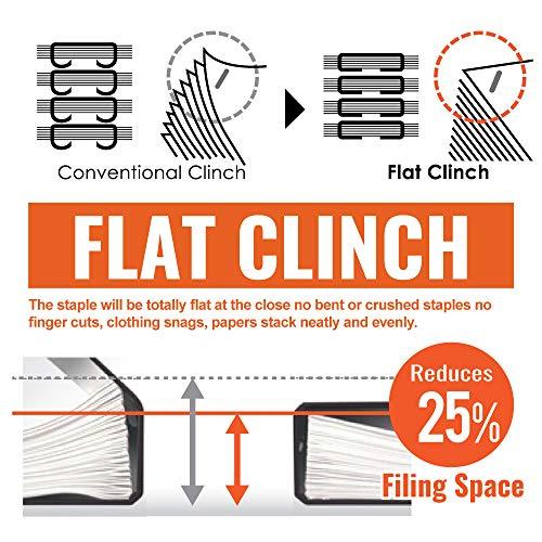 MXBHD11FLKBE - Flat Clinch Light Effort Stapler Photo #2