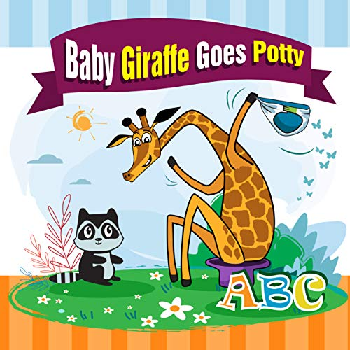 Baby Giraffe Goes Potty