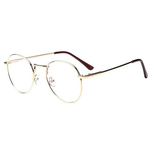 5529ee36a81549 forepin reg  Lunette de Vue Femme Homme Unisex Vintage Retro Monture  Metalique Mode Fashion Eyeglasses