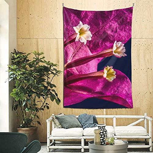 N\ A Wandkarte Tapisserie, Blume Tapisserie Wandkunst