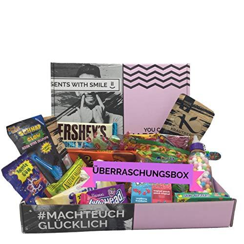 Überraschungs Süßigkeiten Box - Box mit verschiedenen Süßigkeiten 500g - GERINGES MINDESHALTBARKEITSDATUM