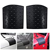 Black Body Armor Cowling Outter Cowling Cover for 2007-2017 Wrangler JK JKU Unlimited Rubicon Sahara X Corner Guards Accessories Replacements