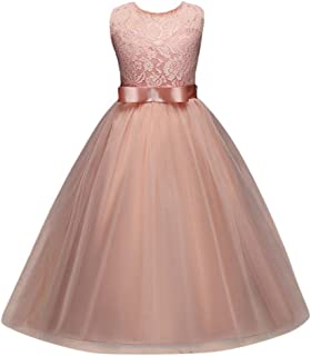 9c509bc099102 DAY8 Robe Fille Cérémonie Mariage Princesse Tutu Robe Fille 4-12 Ans a la  Mode