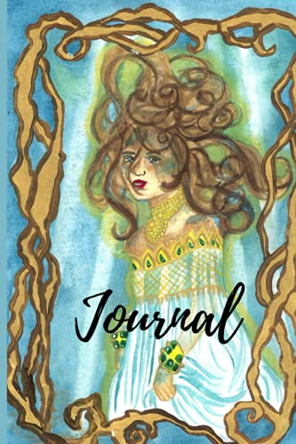 Goddess Vellamo Notebook Finnish Mythology With Lined and Blank Pages, Perfect for Journal, Doodling, Sketching and Notes Paperback (Mermaid Magic Notebooks)