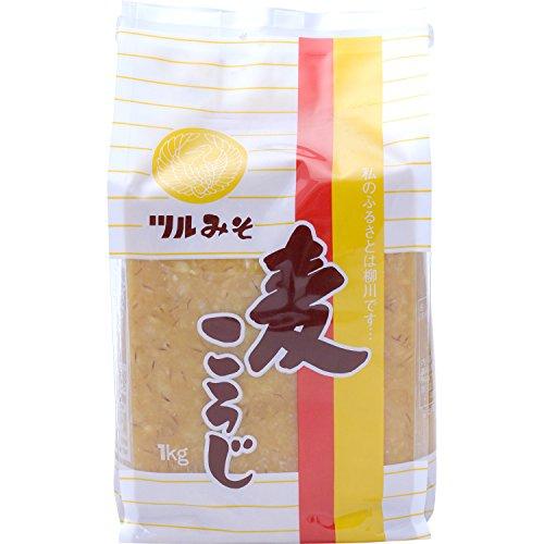 鶴味噌醸造 白秋 麦こうじみそ 1kg
