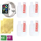 Octelect high resolution screen protector for dirrelo smart watch screen protector with 4PCS in one pack