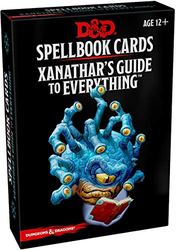 SPELLBOOK CARDS XANATHARS (Dungeons & Drangons)