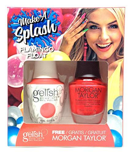 Morgan Taylor Gel de manucure et pédicure (Flamingo Float) – 30 ml