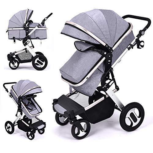 High Landscape - Cochecito de bebé 2 en 1, sillita y capazo, ligero, con sistema para viajar, seguro