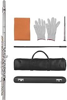 Festnight - Set de flauta (17 agujeros, incluye maletín y bolsa de transporte)