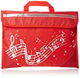 Musique : Wavy Stave Music Bag (rouge).