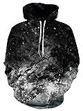 NEWISTAR Unisex 3D Druck Hoodie Kapuzenpullover Langarm Sweatshirt Kapuzenjacke Mit Taschen